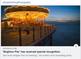 Brighton Pier Photography Award