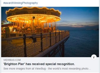 Brighton Pier Photography Award