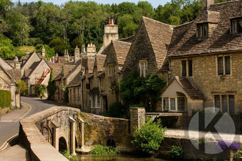 Stock imagery for sale Castle Combe