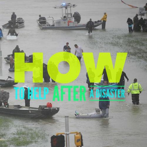 disaster relief, hurricane harvey