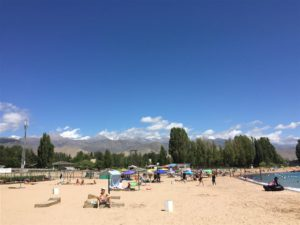 Issyk Kul resort, Kyrgyzstan