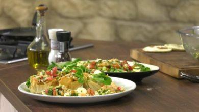 Photo of Salata od kozica sa kuglicama mocarele i bosiljkom
