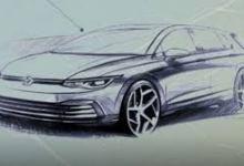 Photo of Volkswagen objavio zvaničnu skicu Golfa VIII i teaser unutrašnjosti