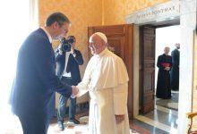 Photo of Vučić kod pape Franje: Cijenimo poziciju Vatikana po pitanju nepriznavanja nezavisnosti Kosova