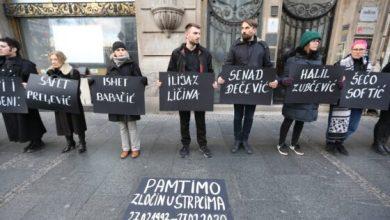 Photo of U Beogradu obeležena 27. godišnjica zločina u Štrpcima