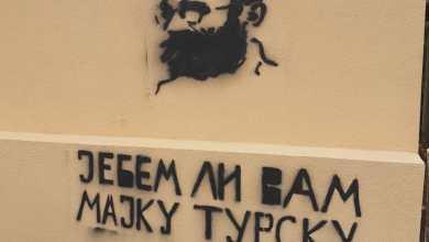 Photo of U Beranama osvanuli uvrjedljivi grafiti sa likom Draže Mihajlovića