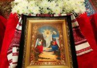 Пасхальное богослужение. Литургия и освящение пасок