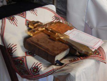 Анонс богослужений. Крест и Евангелие на богослужении