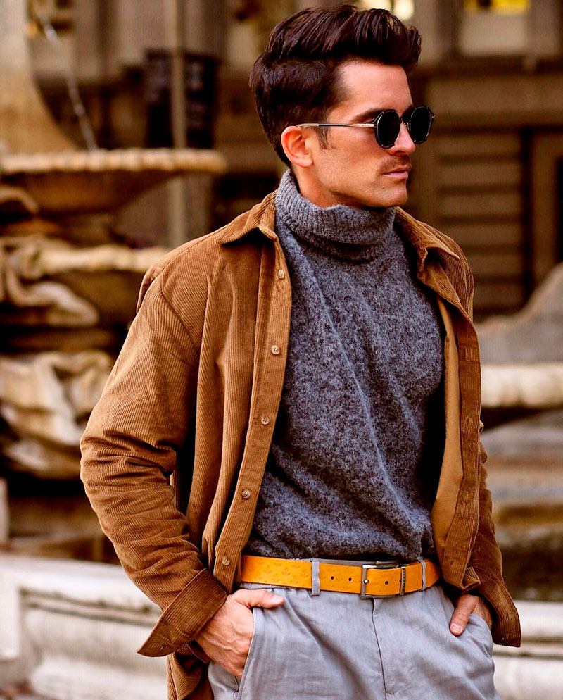 Alberto avec sa ceinture jaune