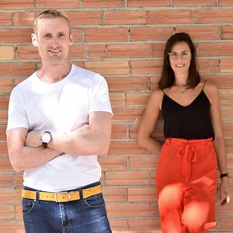Team KAZARTT Guillaume Loiseau and Amandine Leman