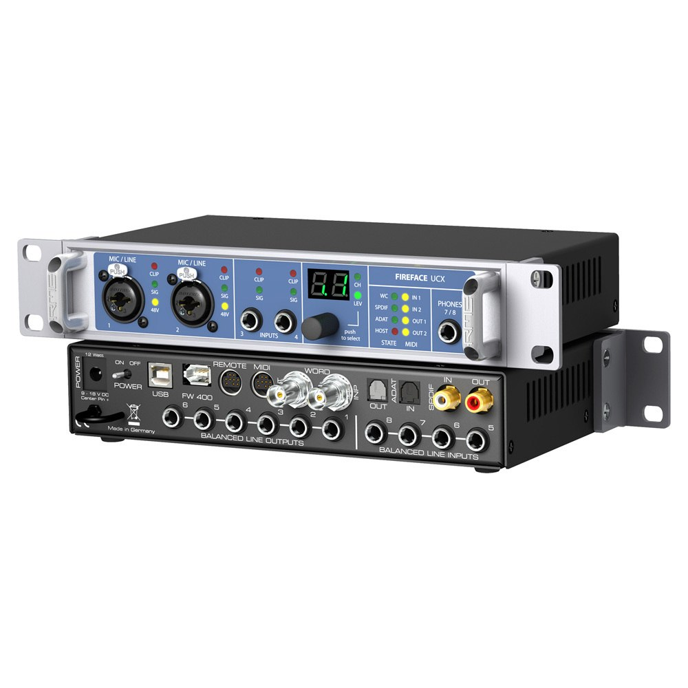 RME Fireface UCX Hybrid Audio Interface