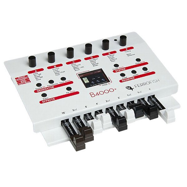 Ferrofish B4000+ Organ Sound Module