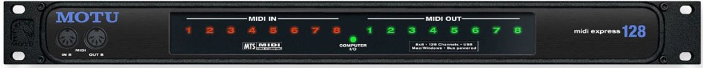 MOTU MIDI Express 128 Professional MIDI Interface