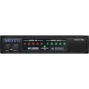 MOTU Micro Lite Professional MIDI Interface