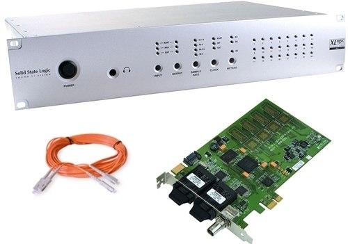 SSL Alpha Link AX Bundle, XLogic Alpha Link MADI AX, MADI Xtreme 64