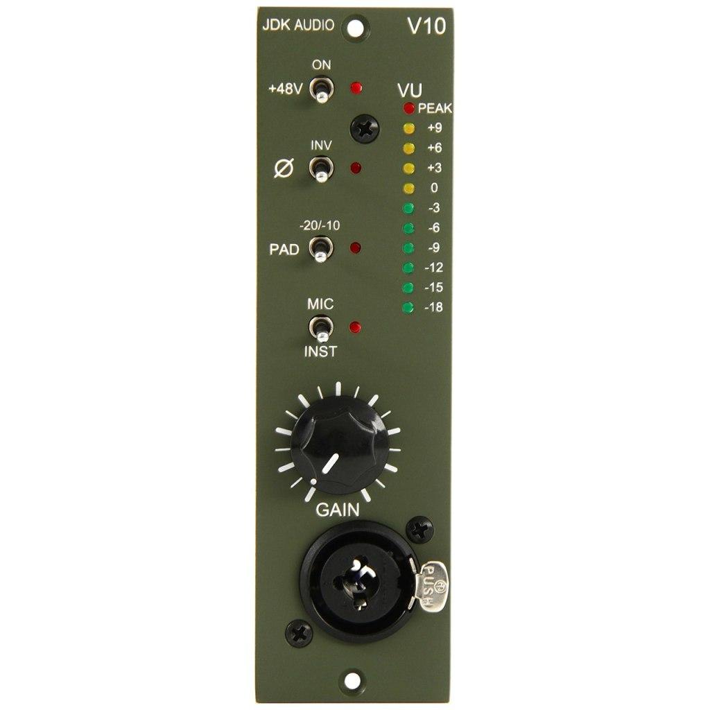 JDK Audio V10 500-Series Microphone Preamp Module