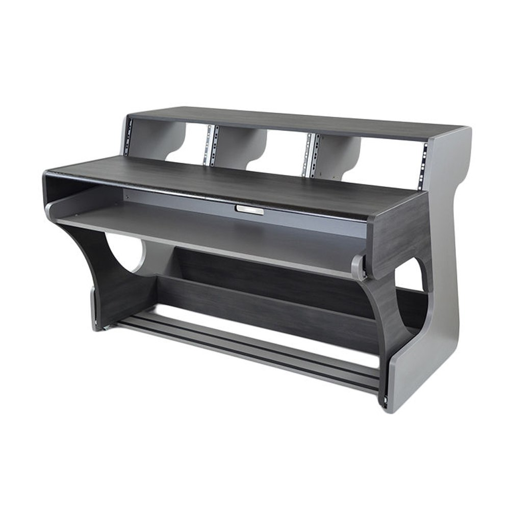 ZAOR MIZA 88XL Studio Desk Grey/Wengé