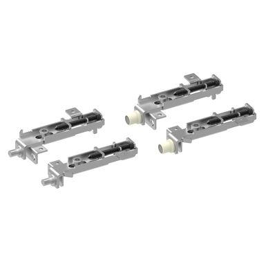 Lot De 2 Pivots Et Pivots Glissants Pour Facades De Placard Pliantes Aluminium Kazed