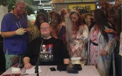 Lesung mit Zombies in Recklinghausen