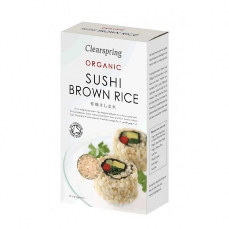 Riz complet pour sushis 500g, CLEARSPRING, Riz