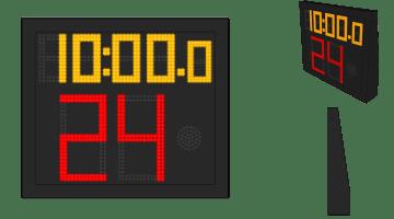 Single Side Shot Clock