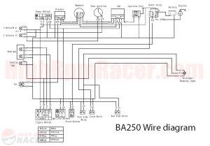 2007 Baja 250 Atv Wiring Diagram | Online Wiring Diagram