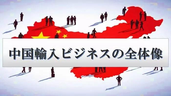 中国輸入ビジネスのやり方、始め方の全体像【2018年版】
