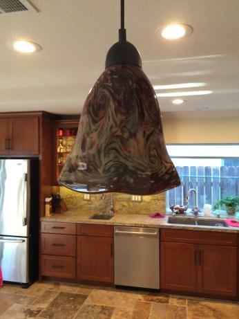 Pendant Lamp Mission Style Kitchen