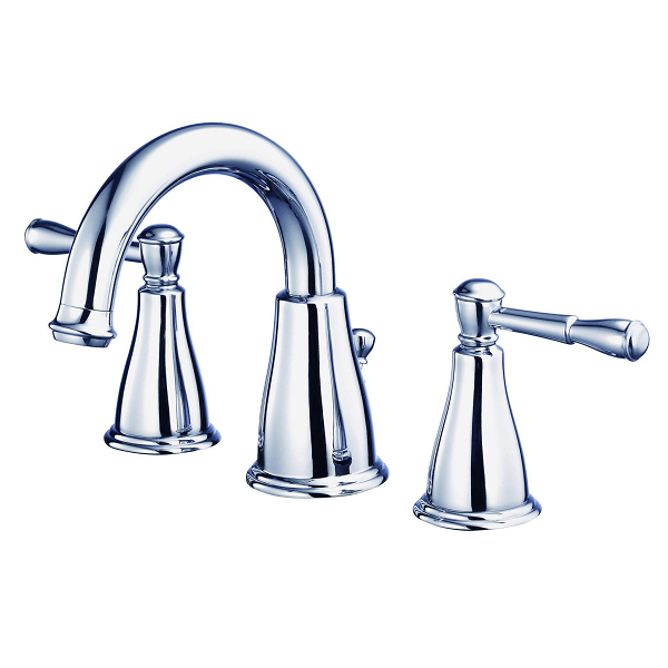 danze d304215 eastham two handle widespread lavatory faucet with 50 50 pop up drain 1 2 gpm