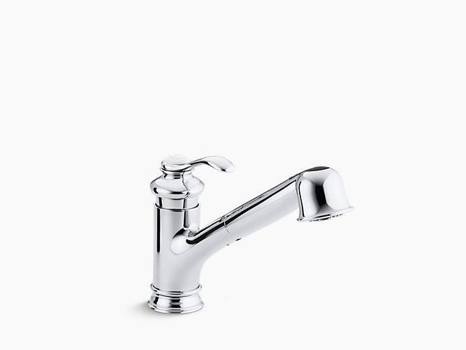 kohler k 12177 fairfax pull out kitchen faucet