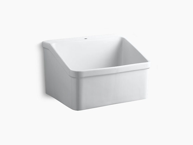 kohler k 12700 0 gilford 30 inch single basin wall mount top mount kitchen sink with apron front
