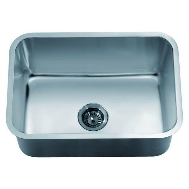 dawn asu2316 25 inch undermount single bowl sink