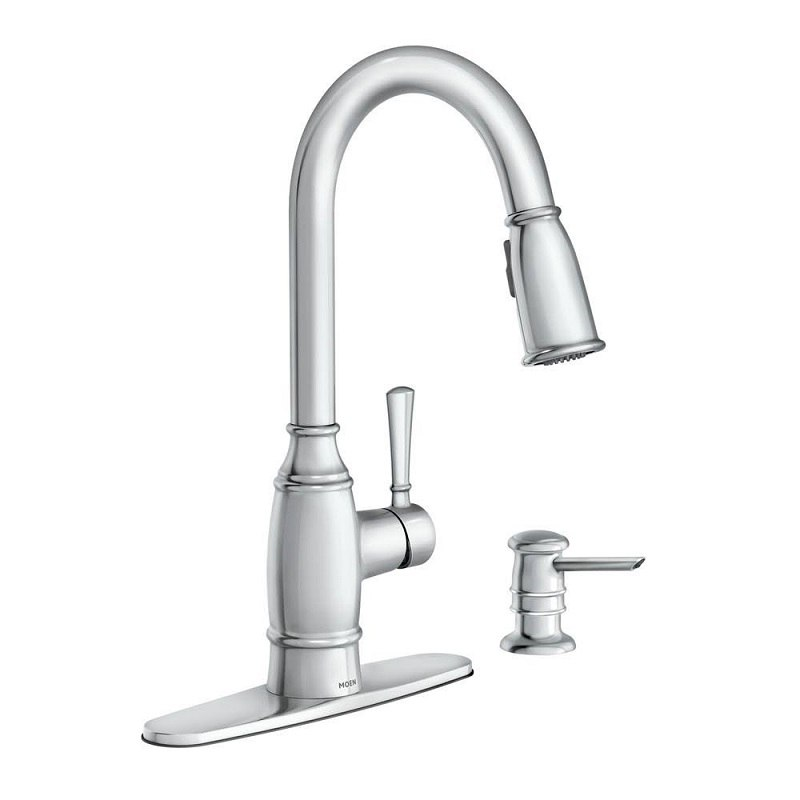 moen 87791 noell one handle pulldown kitchen faucet