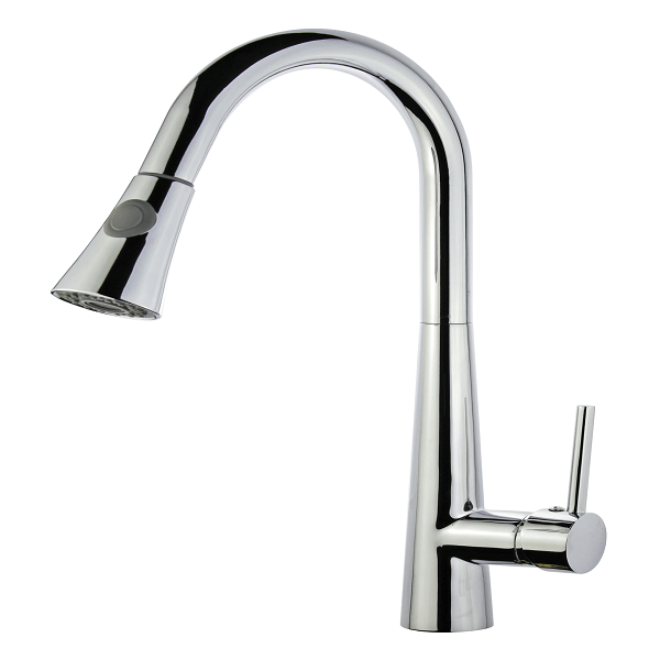 legion furniture zk88402ab pc upc kitchen faucet with deck plate in polished chrome