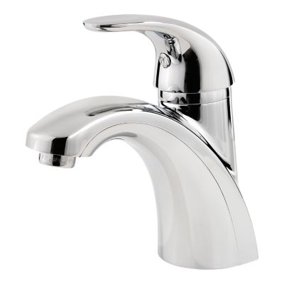 pfister lf 042 pd pasadena 6 1 4 inch deck mount single control centerset bathroom faucet with push and seal