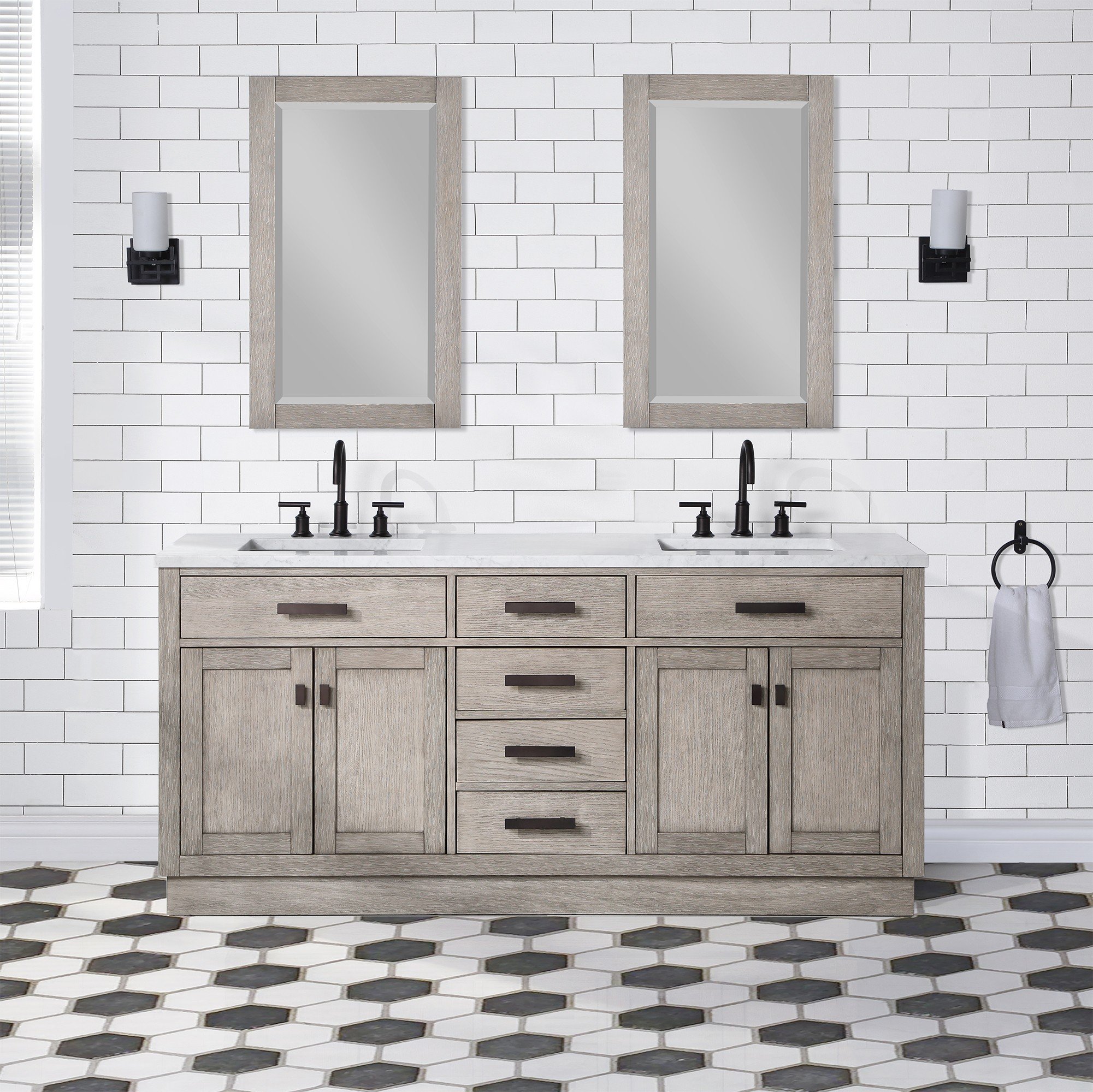 water creation ch72a 0300gk chestnut 72 inch double bathroom vanity in grey oak