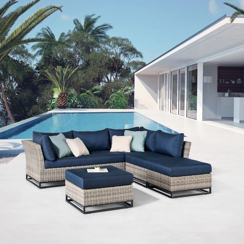 ove decors 15psc torr04 bl3vl torrance ii 102 inch 4 piece aluminum frame patio conversation set with navy blue olefin cushions