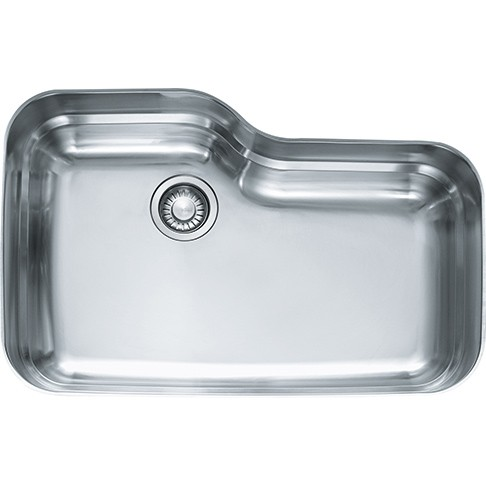 franke orx110 31 inch orca series undermount single bowl sink stainless steel