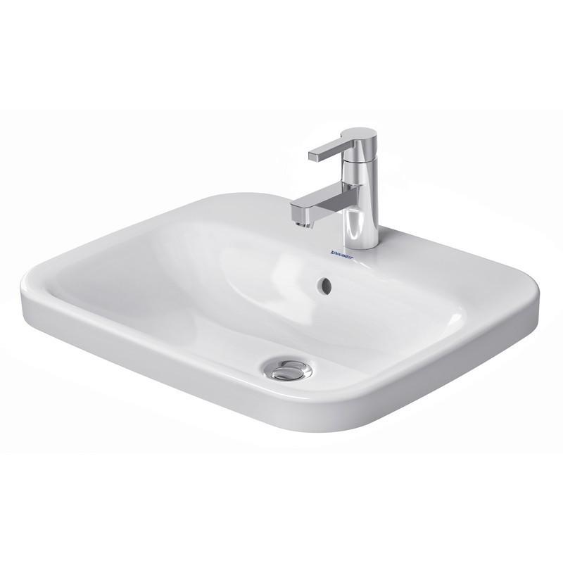 duravit 037456 durastyle 22 x 17 7 8 inch vanity basin