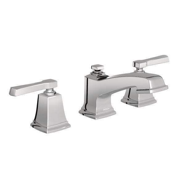 moen t6220 boardwalk two handle bathroom faucet