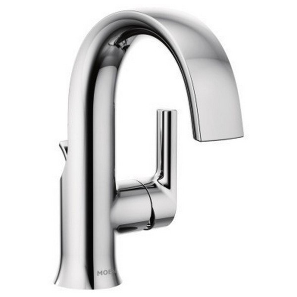 moen s6910 doux single handle high arc bathroom faucet