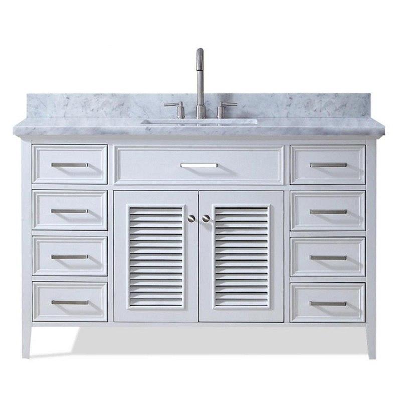 ariel d055s vo kensington 55 inch single sink vanity