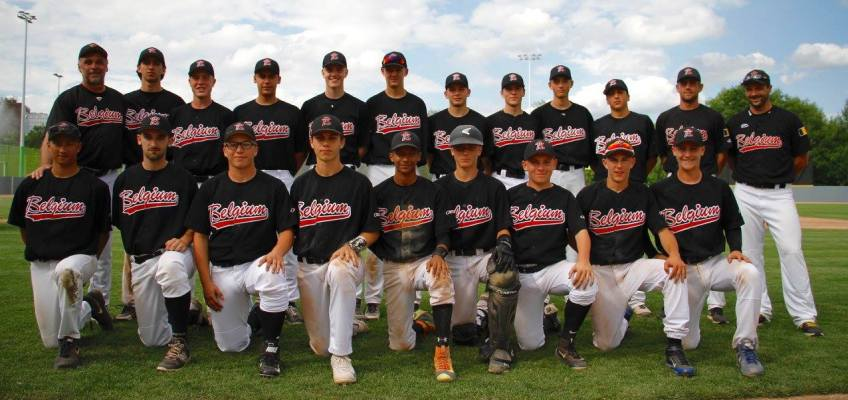 New Belgium U18 Baseball Team to play in Final of E.C. Qualifier