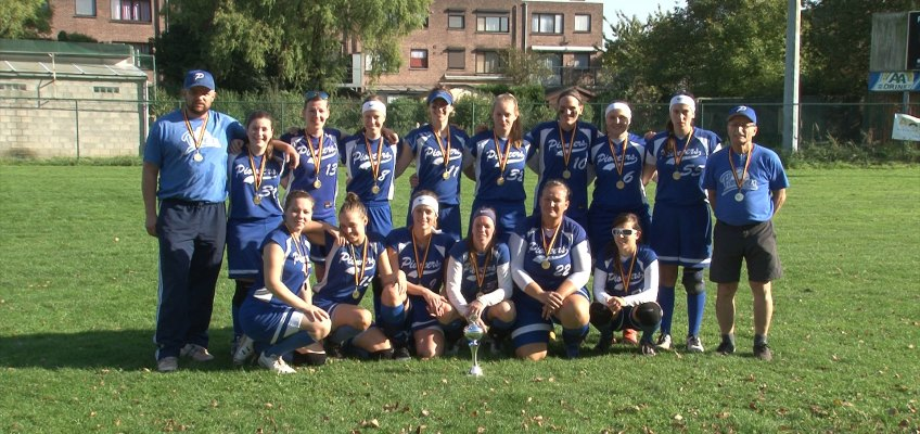 Pioneers win Belgian Series Softball Women