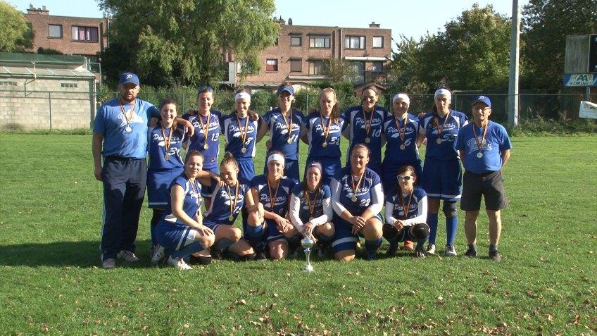 Pioneers win Belgian Series Softball Women