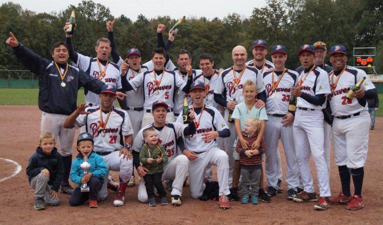 Brasschaat Braves are National Softball Champions 2018
