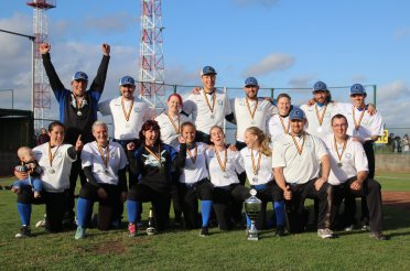 Belgium Cup Coed Slowpitch Champions – Mortsel Skywalkers
