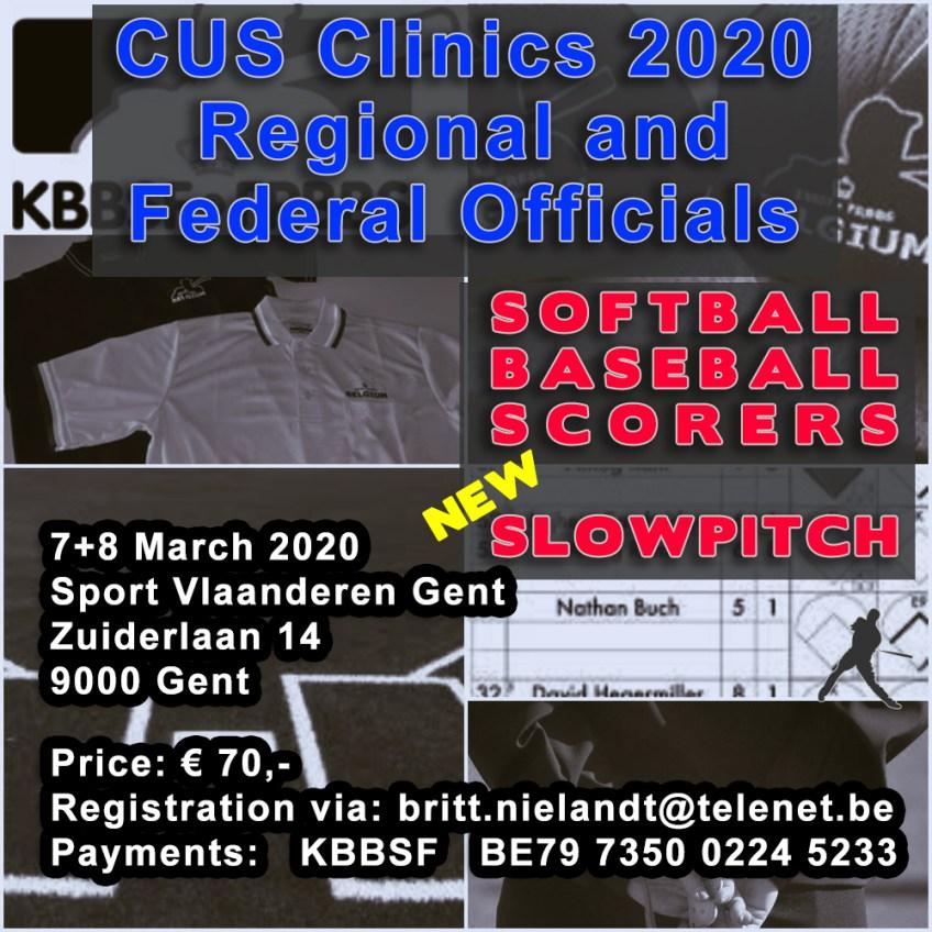 CUS Clinics 2020