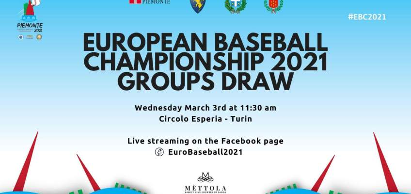 Live draw for E.C. BB 2019 Wednesday 3-3-21