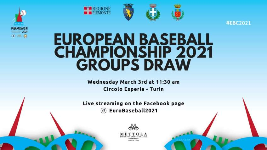 Live draw for E.C. BB 2019 Wednesday 3-3-21